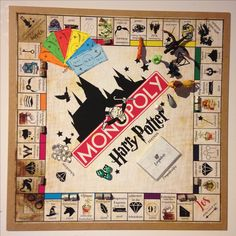 Harry Potter Monopoly Deutsch