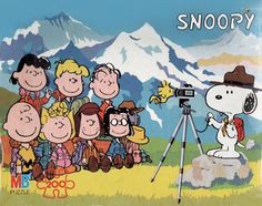 Snoopy Photographer