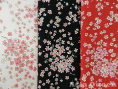 Japanese Sakura, Cherry Blossom Fabric