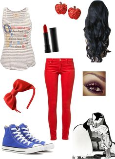 """People Say I'm A Lot Like Snow White :D"" by mcp1112 ❤ liked on Polyvore"