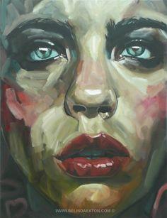Belinda Eaton. love the texture.