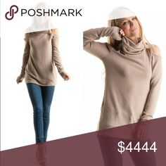 💥Coming Soon! Cold shoulder top 💥 Coming soon! Taupe cowl neck cold shoulder top. Perfect for season transitions! More info to follow on measurements when it comes in.        *Like this listing to be updated upon arrival! Tops Blouses