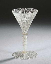 venetian filligrana goblet 1700's