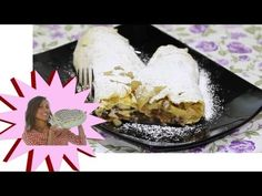 Strudel di Mele Light con Pasta Povera - Le Ricette di Alice - YouTube