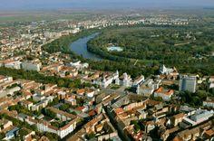 Látkép a Maros-kanyarral - Arad - Partium Natural Scenery, Natural Resources, Homeland, Hungary, Romania, Paris Skyline, City Photo, Tourism, Dolores Park