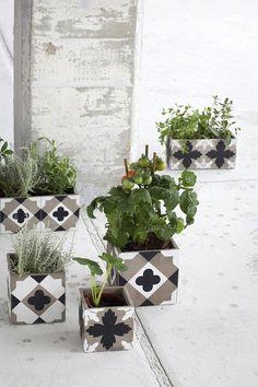 Imagens ensinam como transformar blocos de concretos em decoração