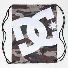 DC SHOES Simpski Cinch Sack ($12) ❤ liked on Polyvore