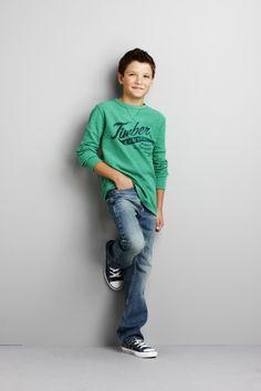 boys' Arizona thermal shirt #MommyMidday #Kids #KidsFashion