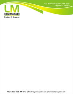 affordable letterhead design services at httpwwwkooldesignmakercomletter - Letterhead Design Ideas