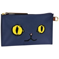 Clutch - Le Pliage « Miaou » - Small leather goods - Longchamp - Navy - Longchamp United-States