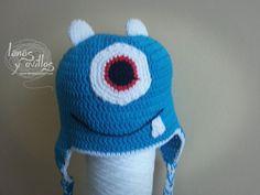 Tutorial Gorro Crochet o Ganchillo Monstruo Paso a Paso c423ba8113e