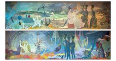 Tove Jansson_Haminan Seurahuoneen seinämaalaukset (1952)_featured