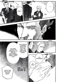 Sherlock 4, Manga List