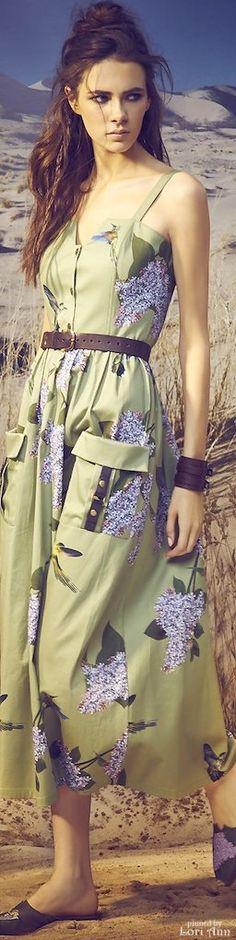 Designer fashion | A la russe spring 2016 RTW