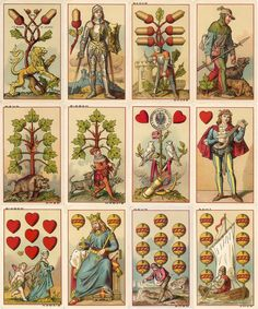 T O Weigel, Leipzig, 1885 - The World of Playing Cards