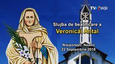 Nisiporești, Neamț, 22 Septembrie 2018  Veronica Antal (1935-1958), tânără româncă și terțiară franciscană, al cărei martiriu pentru credință a fost recunoscut de Papa Francisc la 26 ianuarie 2018, va fi beatificată sâmbătă, 22 septembrie 2018, la Nisiporești (Neamț), localitatea sa natală, în cadrul unei Sfinte Liturghii pontificale oficiate la ora 11:00 în biserica romano-catolică Adormirea Maicii Domnului. Slujba va fi transmis în direct de TVR Iași. Verona, Movie Posters, Movies, Films, Film Poster, Cinema, Movie, Film