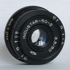 Industar-50-2 50mm 3.5 Pancake Camera Lens M42 Mount i-50-2 #Industar