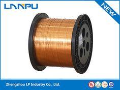 Ultra Fine Self-Bonding Rectangular Enameled Copper Wire