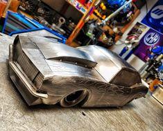 Cold hard art 1967 camaro pro street metal art classic car drag racing