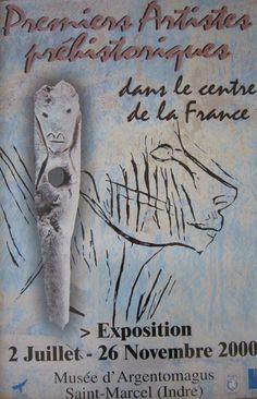 Premiers artistes préhistoriques dans le Centre de la France, 2000.  http://www.argentomagus.fr