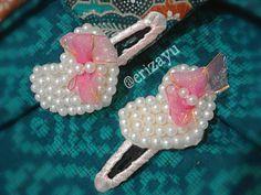 #hairclip #beads #love #pearls #jepitrambut #handmade