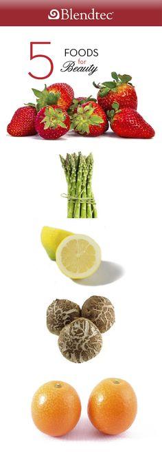 5 Food for Your Beauty   Blendtec Blog