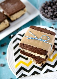 Cookie Dough Ice Cream Sandwiches | Community Post: 25 Outrageously Delicious Ways To Eat Cookie Dough