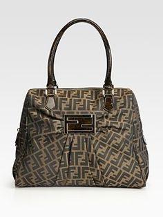 Mia Zucca Duffle Bag by Fendi
