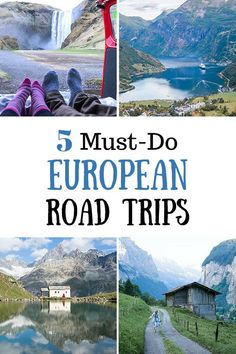 5 Must-Do European Road Trips #europe #travel #traveltips #roadtrip