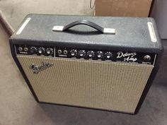 Fender Deluxe Amp 1967 Blackface - Super Clean!