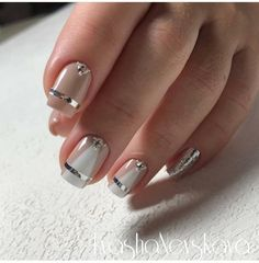 103 cute and natural short square nails design ideas for summer nails page 39 Gorgeous Nails, Pretty Nails, Manicure, Nailart, Short Square Nails, Square Nail Designs, Nail Art Pictures, Rainbow Nails, Gradient Nails