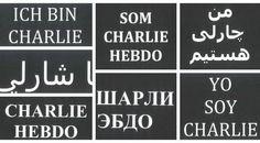 Foto: Clases de Periodismo  El mundo rinde homenaje a Charlie Hebdo