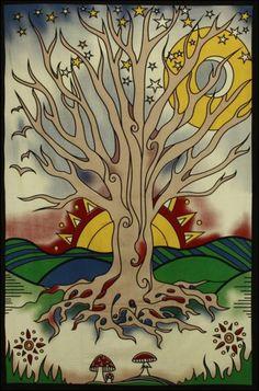 """""""trust tree tapestry""""   Twilight Tree - Tapestry www.trippystore.com/twilight_tree_tapestry.html"""