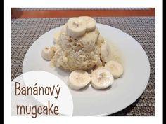 Banánový mugcake - bez mouky! Zdravá snídaně, zdravé mlsání - YouTube Healthy Snacks, Oatmeal, Make It Yourself, Facebook, Breakfast, Cake, Fitness, Food, Youtube