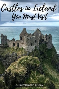12 Castles in Ireland You Cannot Miss! - Our Sweet Adventures - Castles in Ireland You Must Visit - Best Places To Travel, Places To See, Ireland Travel Guide, Ireland Destinations, Travel Destinations, Castles To Visit, Castles In Ireland, Ireland Vacation, Honeymoon In Ireland