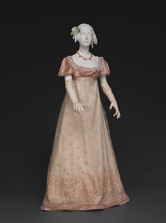 Evening dress, 1810′s From the DAR Museum