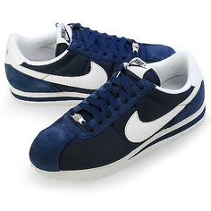 best loved caad4 a4696 Nike cortez Blue leather and suede!