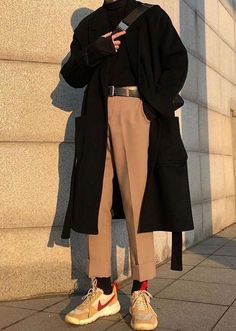 Korean Outfits, Retro Outfits, Mode Outfits, Vintage Outfits, 30 Outfits, Vintage Fashion, Winter Outfits, Aesthetic Fashion, Aesthetic Clothes
