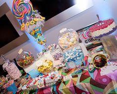 Arma una mesa dulce con golosinas Vol. 1 - LaCelebracion.com