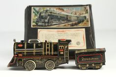 RARE Vintage Cable Train B O Tin Toy T N Nomura Japan | eBay