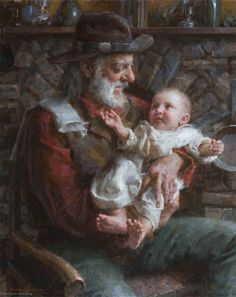 "Morgan Weistling - Fine Artist - ""Grand Pappy"""