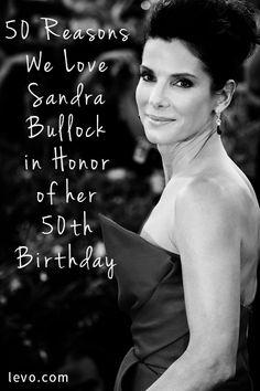 Sandra Bullock // #levolove
