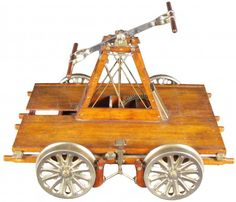 railroad hand cart | 604: Rare Salesman's Sample Railroad Hand Cart : Lot 604