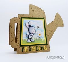 Watering Can Card by #Francine - Cards and Paper Crafts at Splitcoaststampers