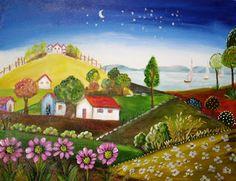 Atelier de Arte Silvana Araújo: Tela (Fotos) Myriam