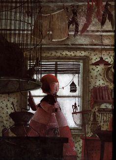 rebecca dautremer Fantasy Paintings, Fantasy Art, Geisha Art, Warm Colour Palette, Classic Books, French Art, Whimsical Art, Book Illustration, Book Art