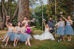 Para Młoda i druhny || Newlyweds with bridesmaids