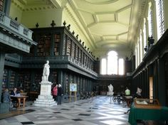 The Codrington Library of Oxford University was completed in 1751 and has been used by scholars ever since. In the late 1990s, the building underwent a massive renovation in order to provide better protection for the books and to make the library more user friendly with better wiring and some new electronic work stations.