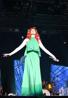 Check our #celeb #style spotting post on the Oxfam #Fashion blog - it features Florence and the Machine