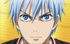 kuroko can be pissed off and I like it when he is damn serious and confident